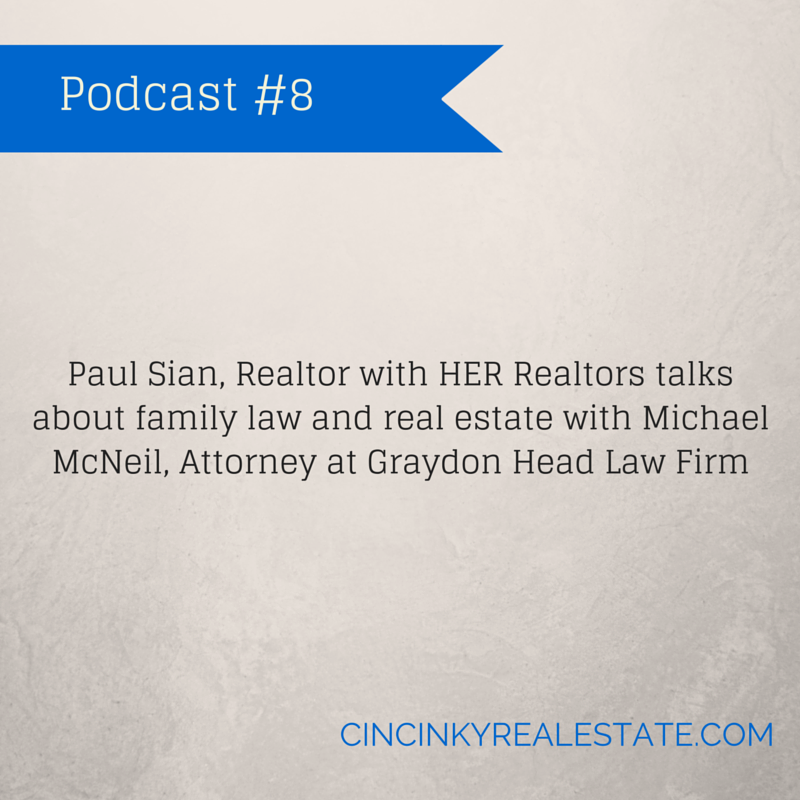 Podcast 8 Family Law and Real Estate graphic