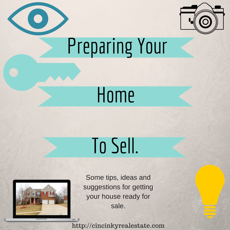 Preparing your house to sell.