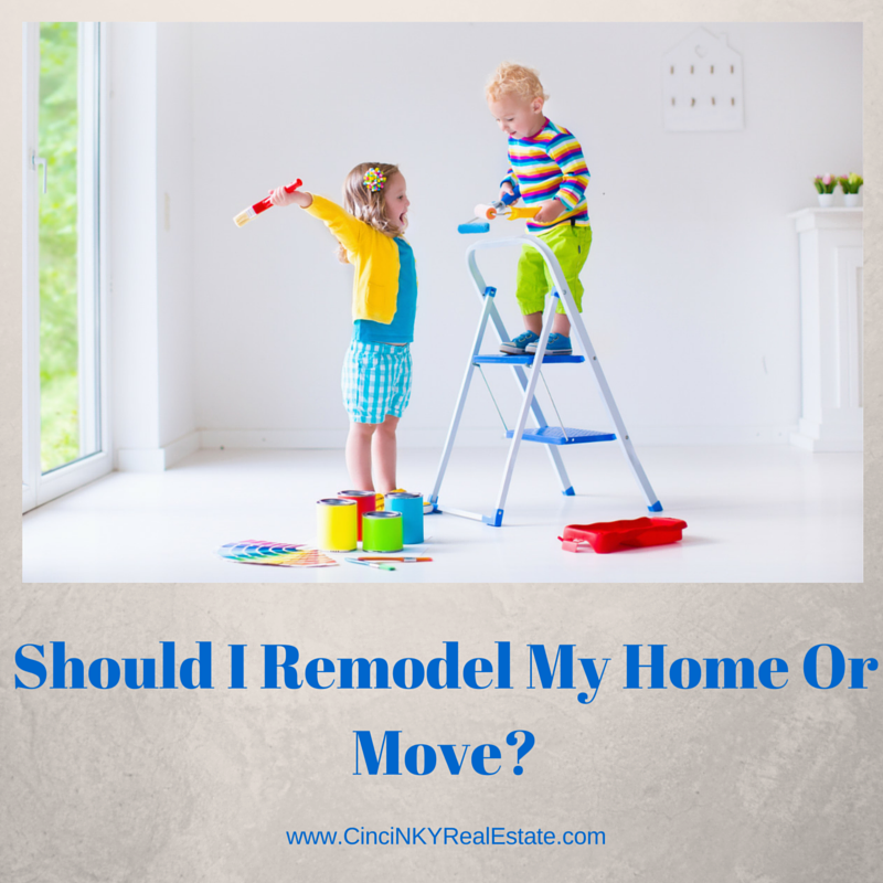 Should I remodel my home or move graphic