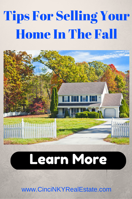 tips for selling your home in the fall picture of a home in fall