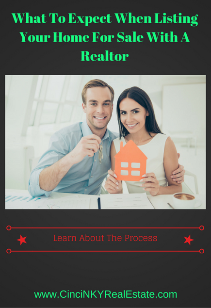what to expect when listing your home for sale with a realtor