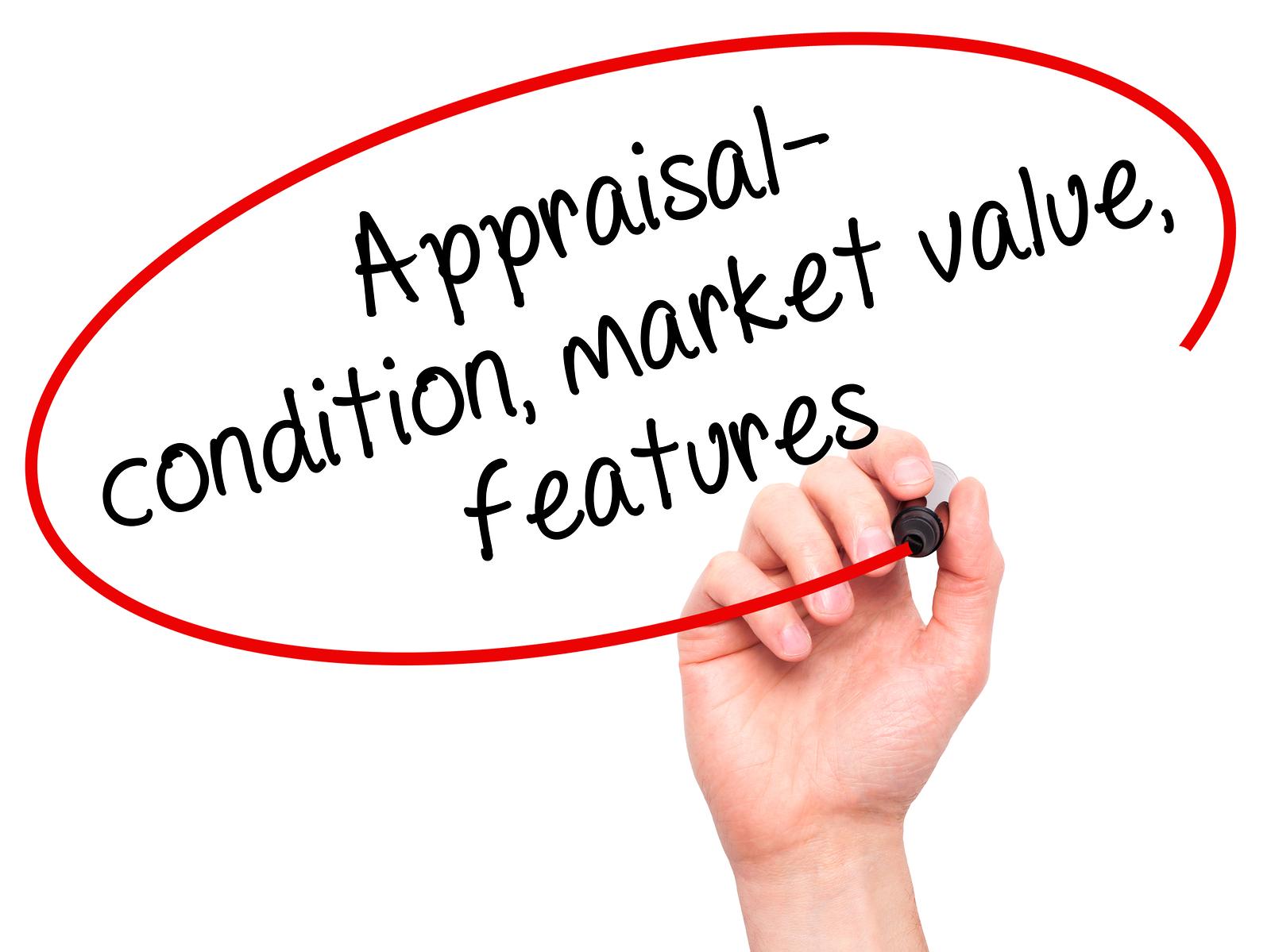 appraisal, condition, market value, features