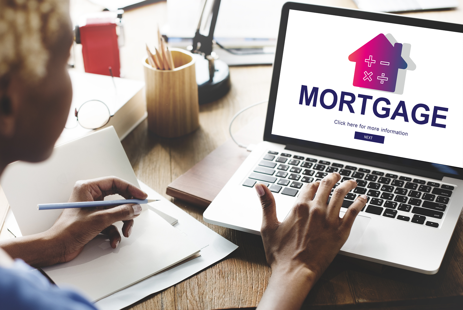 looking up a mortgage online