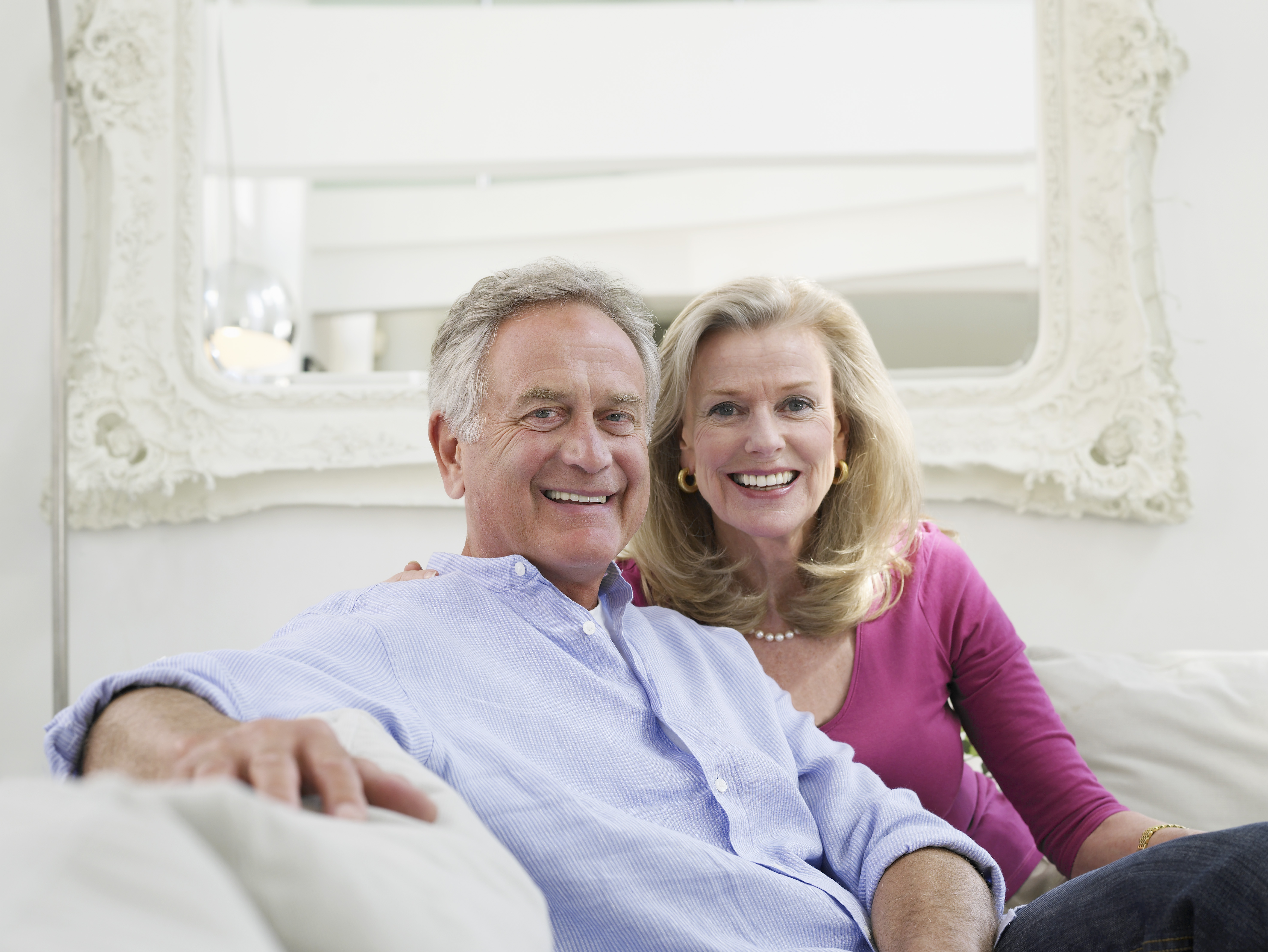 mature couple looking to downsize their home