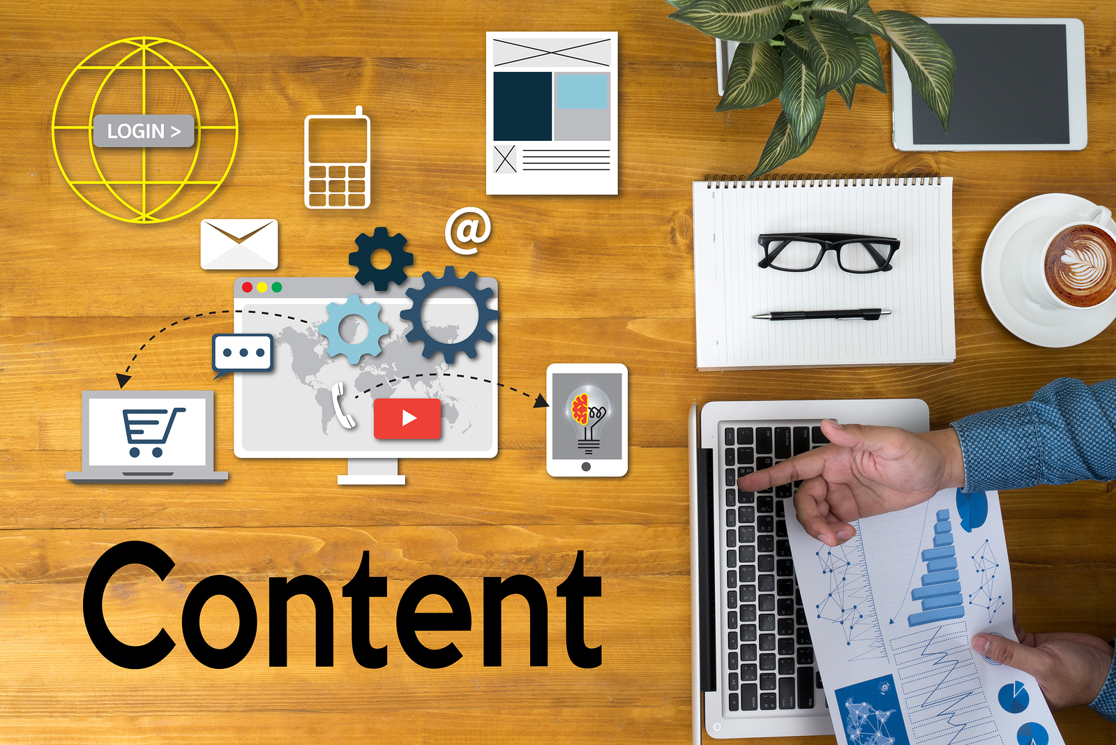 content marketing for selling real estate blogging