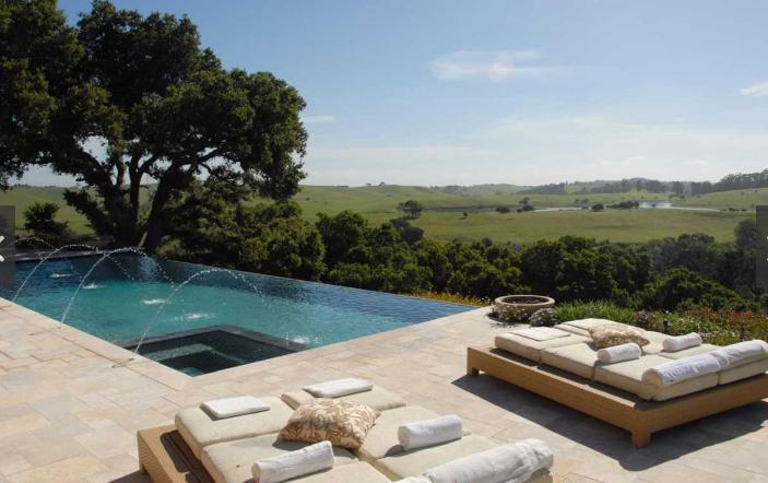 swimming pool in santa cruz home