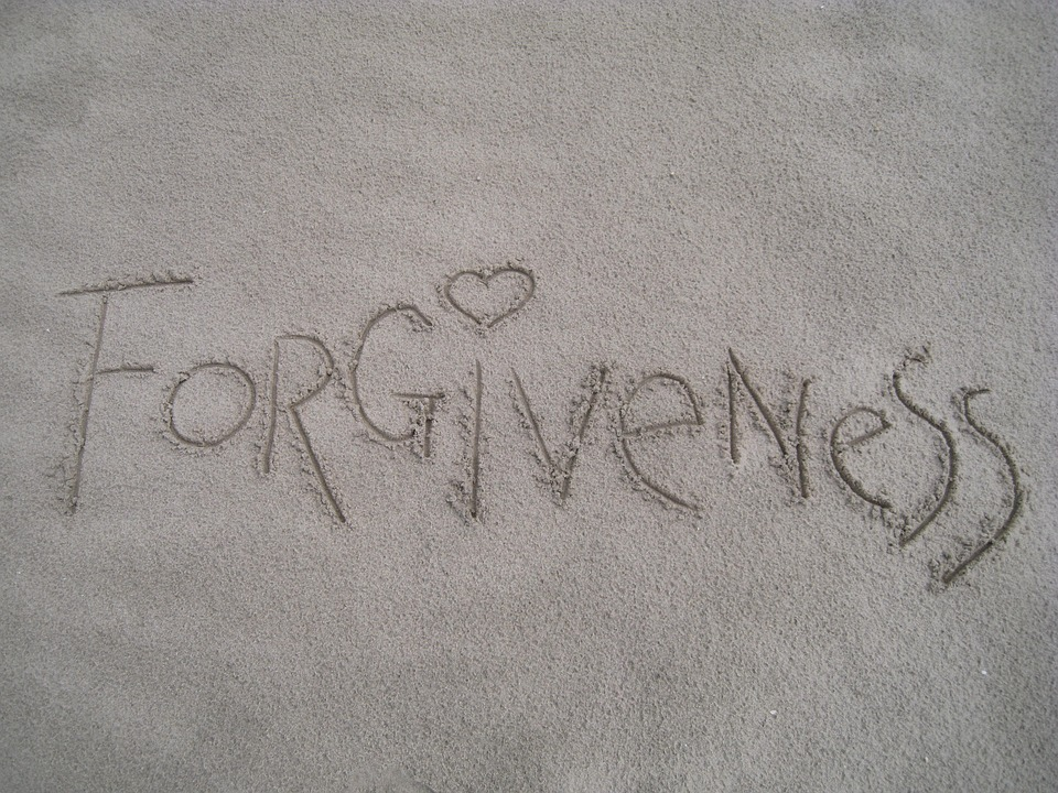 forgiveness in the sand