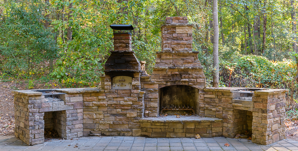 Willow Springs Park Fireplace - Roswell, GA