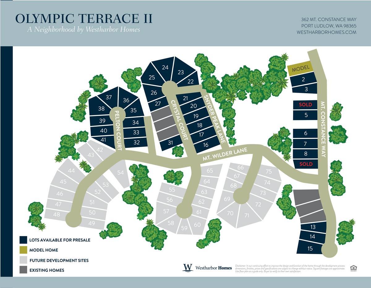 Olympic Terrace II Neighborhood Map