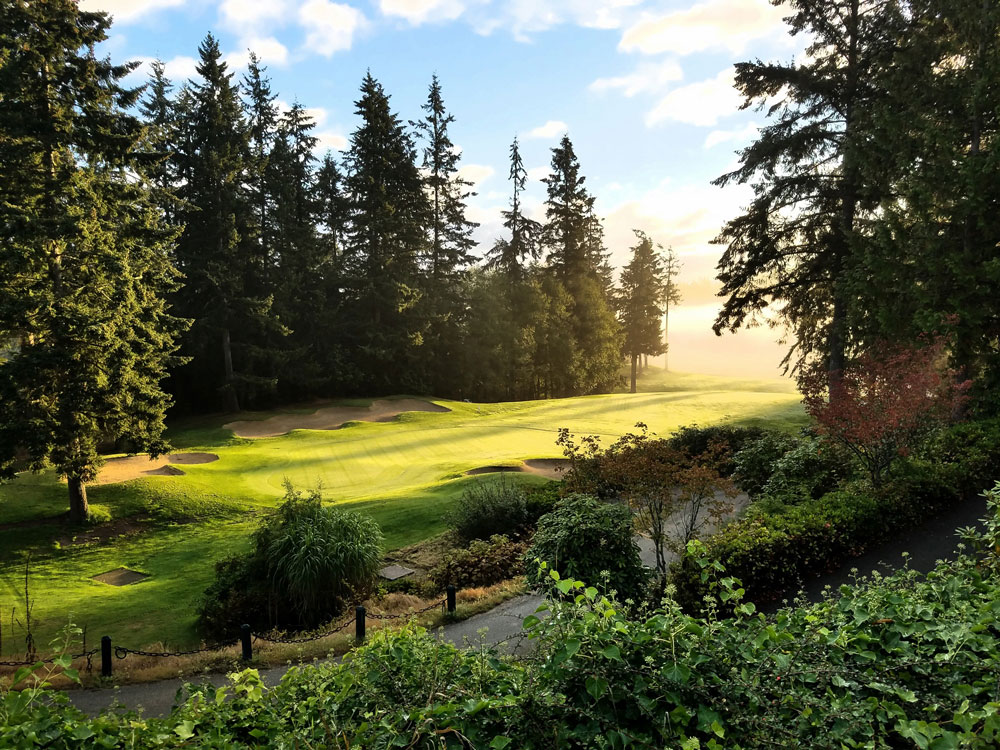 9th Hole at the Port Ludlow Golf Course