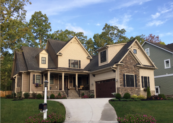 craftsman homes RounTrey, Virginia realty