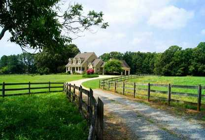 Horse Farm In West Cobb County