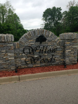 Willow Woods Subdivision Entrance