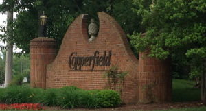Copperfield Subdivision Entrance