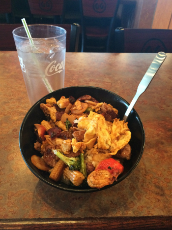 Build Your Own Stir Fry At Genghis Grill In Springhurst