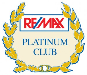 RE/MAX Platinum Club Award