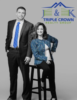 Jeff Day & Kelly Crabtree as J & K of Triple Crown Realty Group