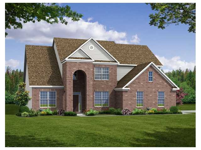Beazer Homes In Parks At Prestwick Avon Indiana