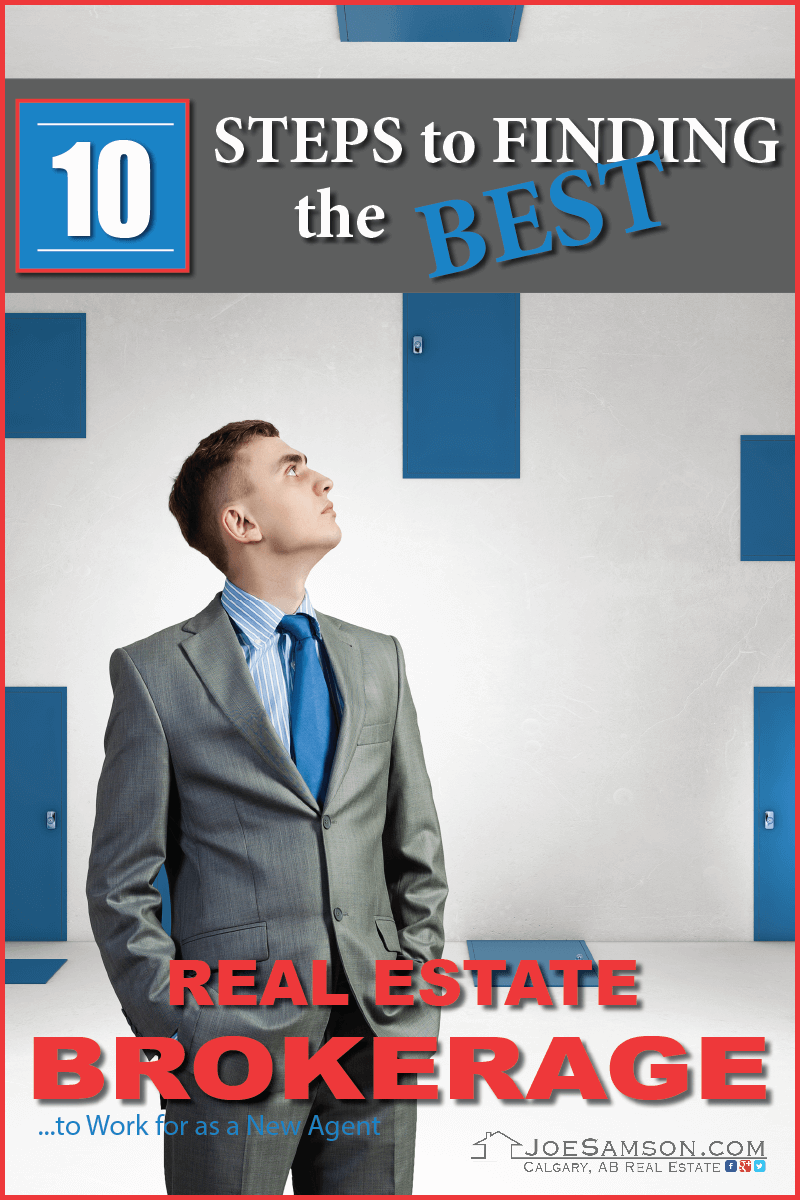 10 Steps to Finding the Best Real Estate Brokerage