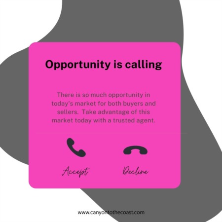 Opportunity is Calling