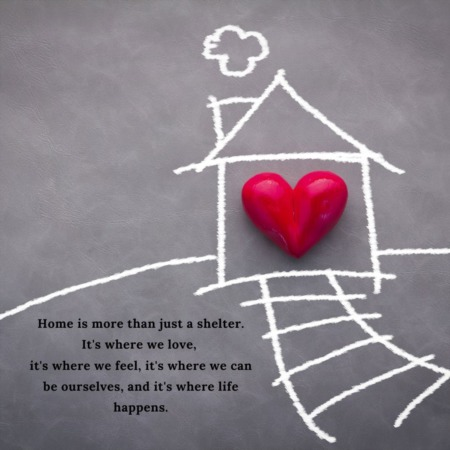 Home is where the heart it