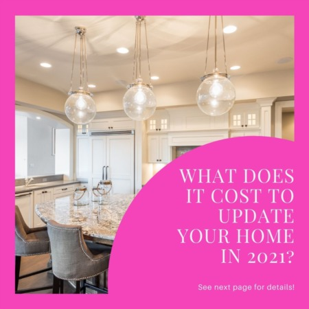 What Does it Cost to Update your Home