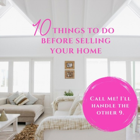 10 Things to do Before Selling Your Home