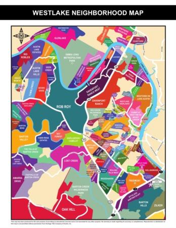 Westlake Maps