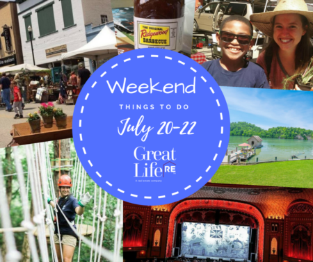 Great Life Weekend To Do List, July 20-22nd