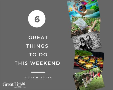Great Life RE Weekend To Do List, March 23-25