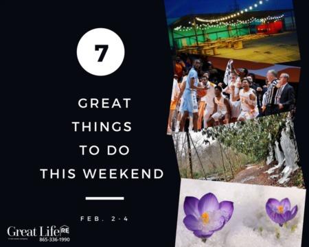 Great Life RE Weekend List, Feb 2-4