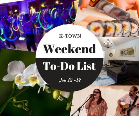 Great Life RE Weekend To Do List, Jan 12-14