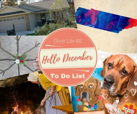 Great Life RE Weekend To Do List, Dec 3-5