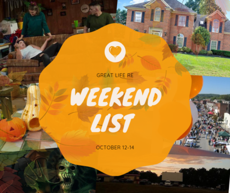 Weekend To Do List, October 12-14, 2018