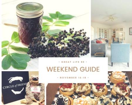 Weekend To Do List, November 16-18