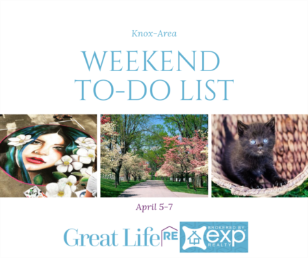 Weekend To Do List, April 5-7 , 2019