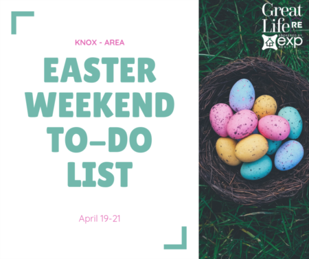 Weekend To Do List, April 19-21, 2019
