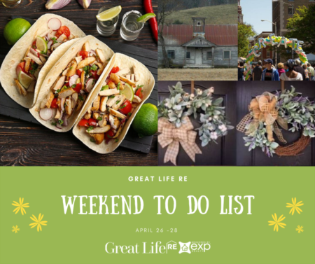 Weekend To Do List, April 26-28, 2019