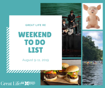 Weekend To Do List, August 9-11, 2019