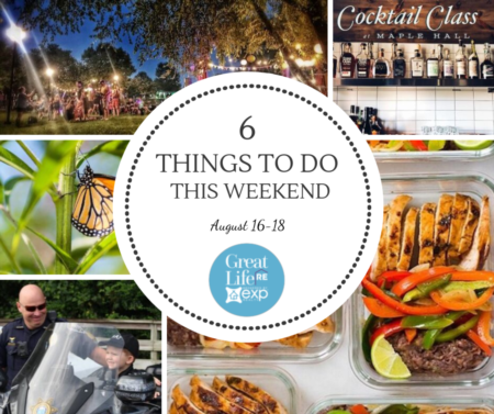 Weekend To Do List, August 16-18, 2019