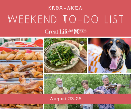 Weekend To Do List, August 23-25, 2019