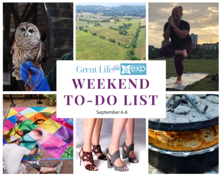 Weekend To Do List, September 6-8, 2019