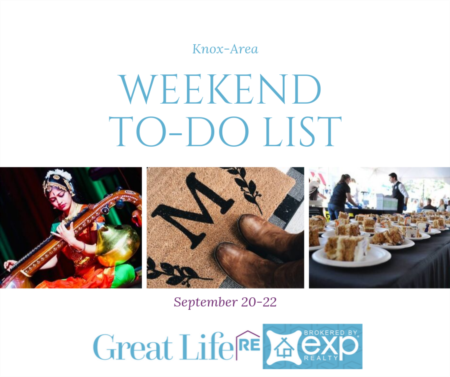 Weekend To Do List, September 20-22, 2019