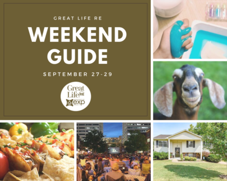 Weekend To Do List, September 27-29, 2019