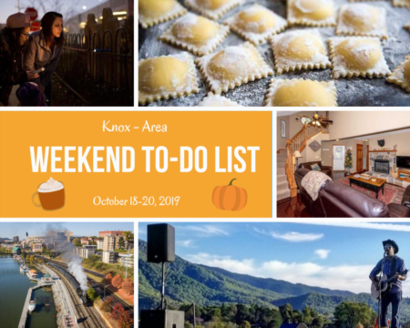 Weekend To Do List, October 18-20, 2019