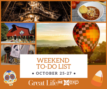 Weekend To Do List, October 25-27, 2019