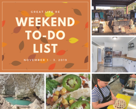 Weekend To Do List, November 1-3, 2019