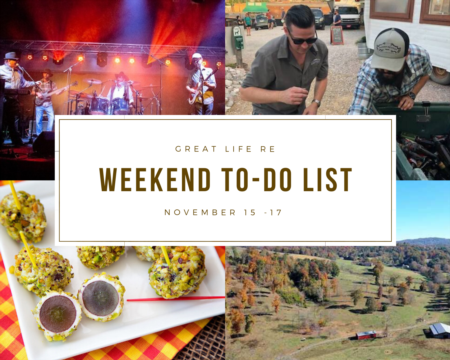 Weekend To Do List, November 15-17, 2019