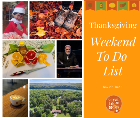 Weekend To Do List, November 29-December 1, 2019