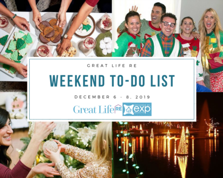 Weekend To Do List, December 6-8, 2019